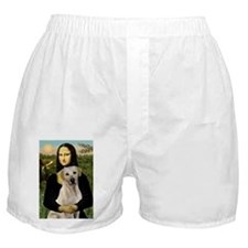 Mona Lisa / Lab (y) Boxer Shorts