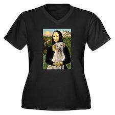 Mona Lisa / Lab (y) Women's Plus Size V-Neck Dark