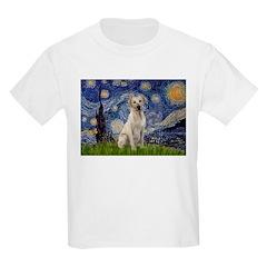 Starry Night Yellow Lab T-Shirt