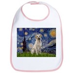 Starry Night Yellow Lab Bib