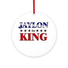 JAYLON for king Ornament (Round)
