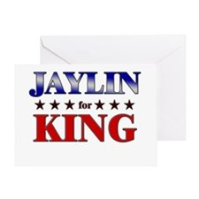 JAYLIN for king Greeting Card
