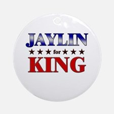 JAYLIN for king Ornament (Round)
