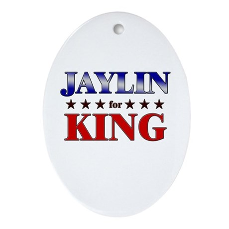 JAYLIN for king Oval Ornament