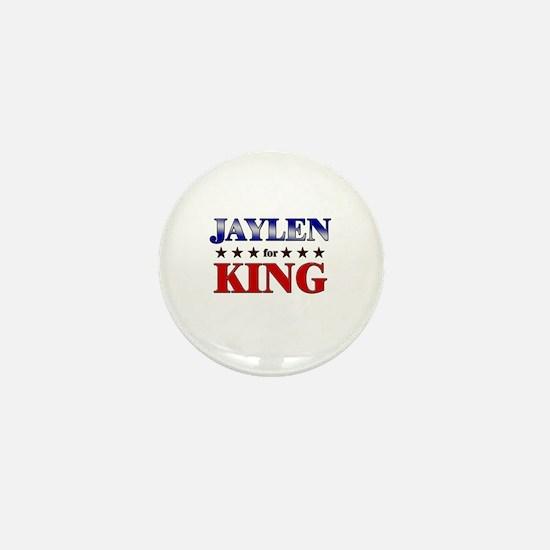 JAYLEN for king Mini Button
