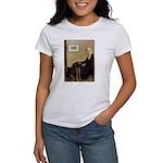 Mom's Chocolate Lab Women's T-Shirt