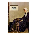 Mom's Chocolate Lab Postcards (Package of 8)