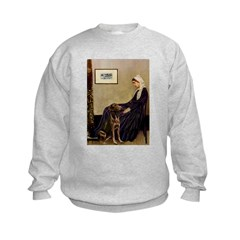 Mom's Chocolate Lab Sweatshirt