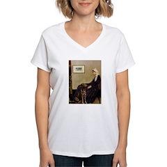 Mom's Chocolate Lab Shirt