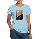 Mom's Chocolate Lab Women's Light T-Shirt