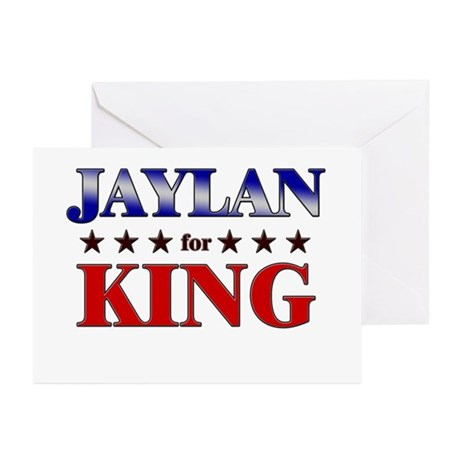 JAYLAN for king Greeting Cards (Pk of 20)
