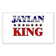 JAYLAN for king Rectangle Decal