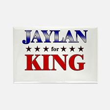 JAYLAN for king Rectangle Magnet