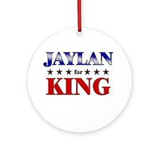JAYLAN for king Ornament (Round)