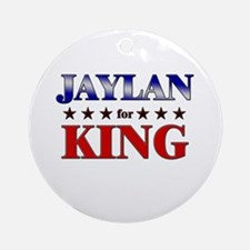 JAYLAN for king Ornament (Round)