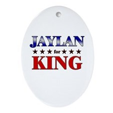 JAYLAN for king Oval Ornament