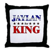 JAYLAN for king Throw Pillow
