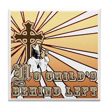 Cool Anti jews for jesus Tile Coaster