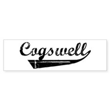 Cogswell (vintage) Bumper Bumper Sticker