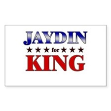 JAYDIN for king Rectangle Decal
