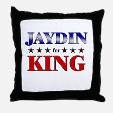 JAYDIN for king Throw Pillow
