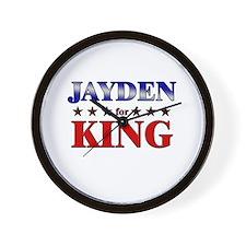 JAYDEN for king Wall Clock