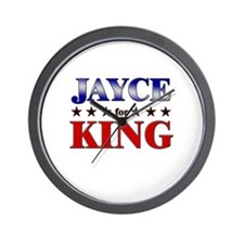 JAYCE for king Wall Clock