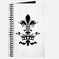 Fleur Crown hearts Journal