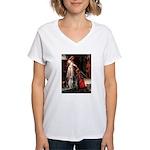 The Accolade & Lab Trio Women's V-Neck T-Shirt