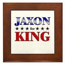 JAXON for king Framed Tile