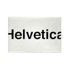 Just Helvetica Rectangle Magnet