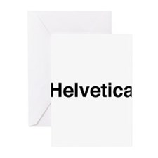 Just Helvetica Greeting Cards (Pk of 10)
