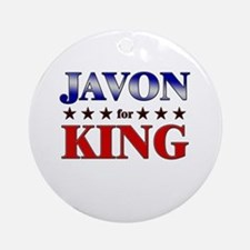 JAVON for king Ornament (Round)
