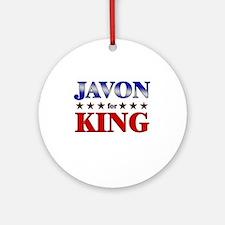 JAVON for king Ornament (Round)