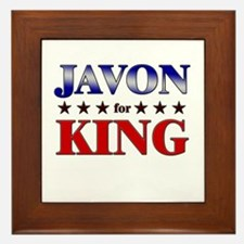JAVON for king Framed Tile