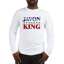 JAVON for king Long Sleeve T-Shirt