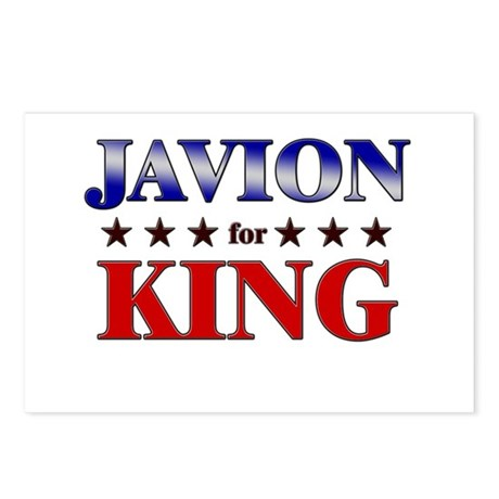 JAVION for king Postcards (Package of 8)