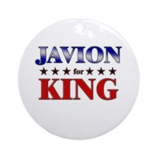 JAVION for king Ornament (Round)