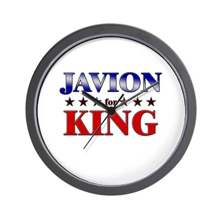 JAVION for king Wall Clock