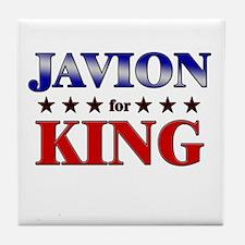 JAVION for king Tile Coaster