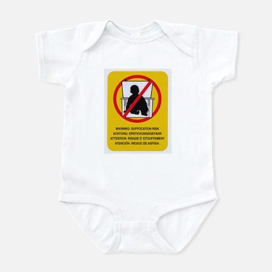 warning Body Suit