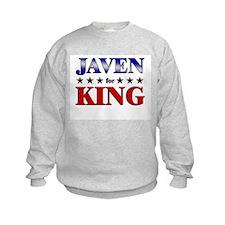 JAVEN for king Sweatshirt