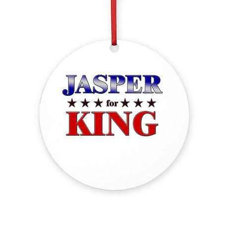 JASPER for king Ornament (Round)
