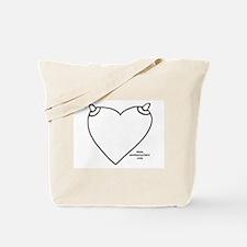 NippleHeart (blank) Tote Bag