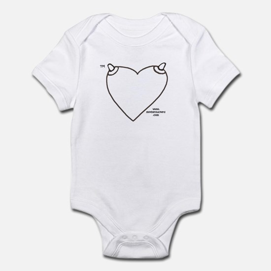 NippleHeart (blank) Infant Bodysuit