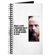 """Dostoevsky """"Hell Is"""" Journal"""