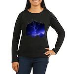 Voice of God Women's Long Sleeve Dark T-Shirt