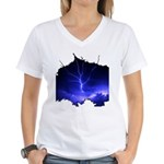 Voice of God Women's V-Neck T-Shirt