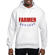 Retired Farmer Jumper Hoody