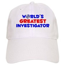 World's Greatest Inves.. (A) Baseball Cap